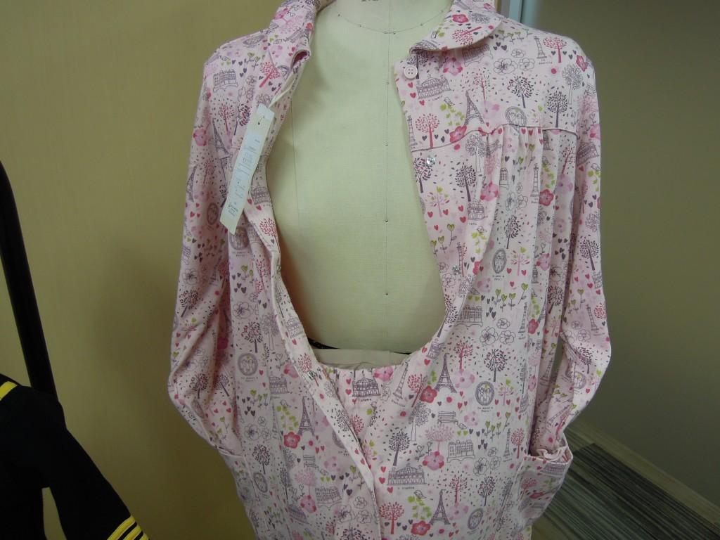 ミニラボ(mini labo)のマタニティ用パジャマは工夫がいっぱい